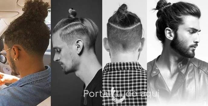 Corte de Cabelo masculino 2016 -coque-masculino-topknot