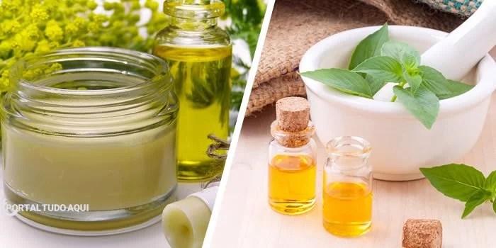 Manteiga de karité e óleos essenciais para hidratar os lábios.