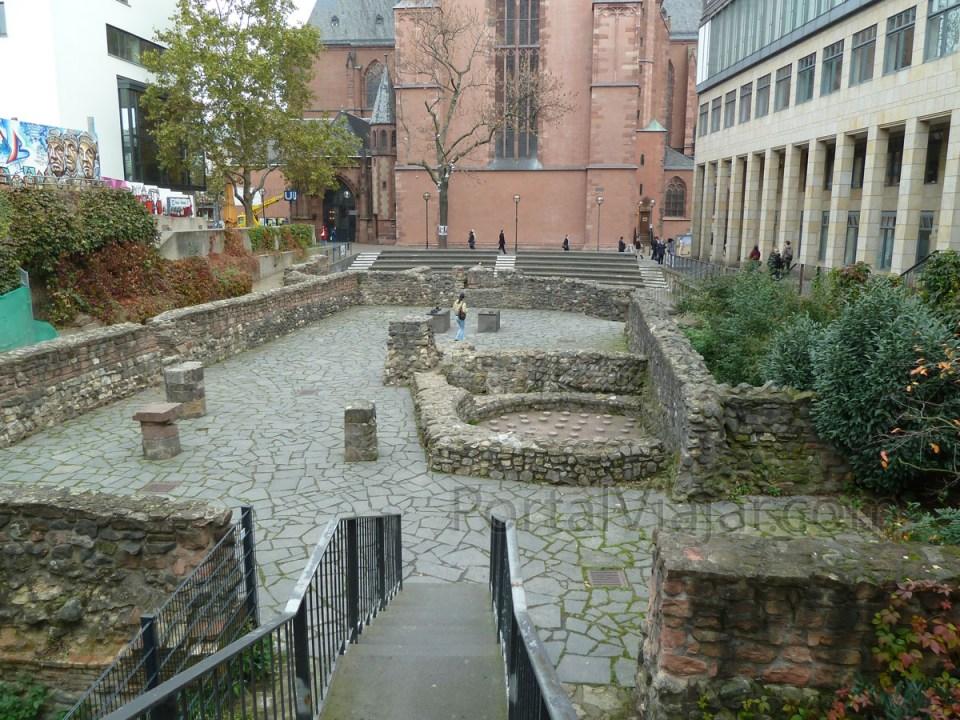 Jardín Arqueológico (Archäologischer Garten) (Frankfurt) - Portal ...