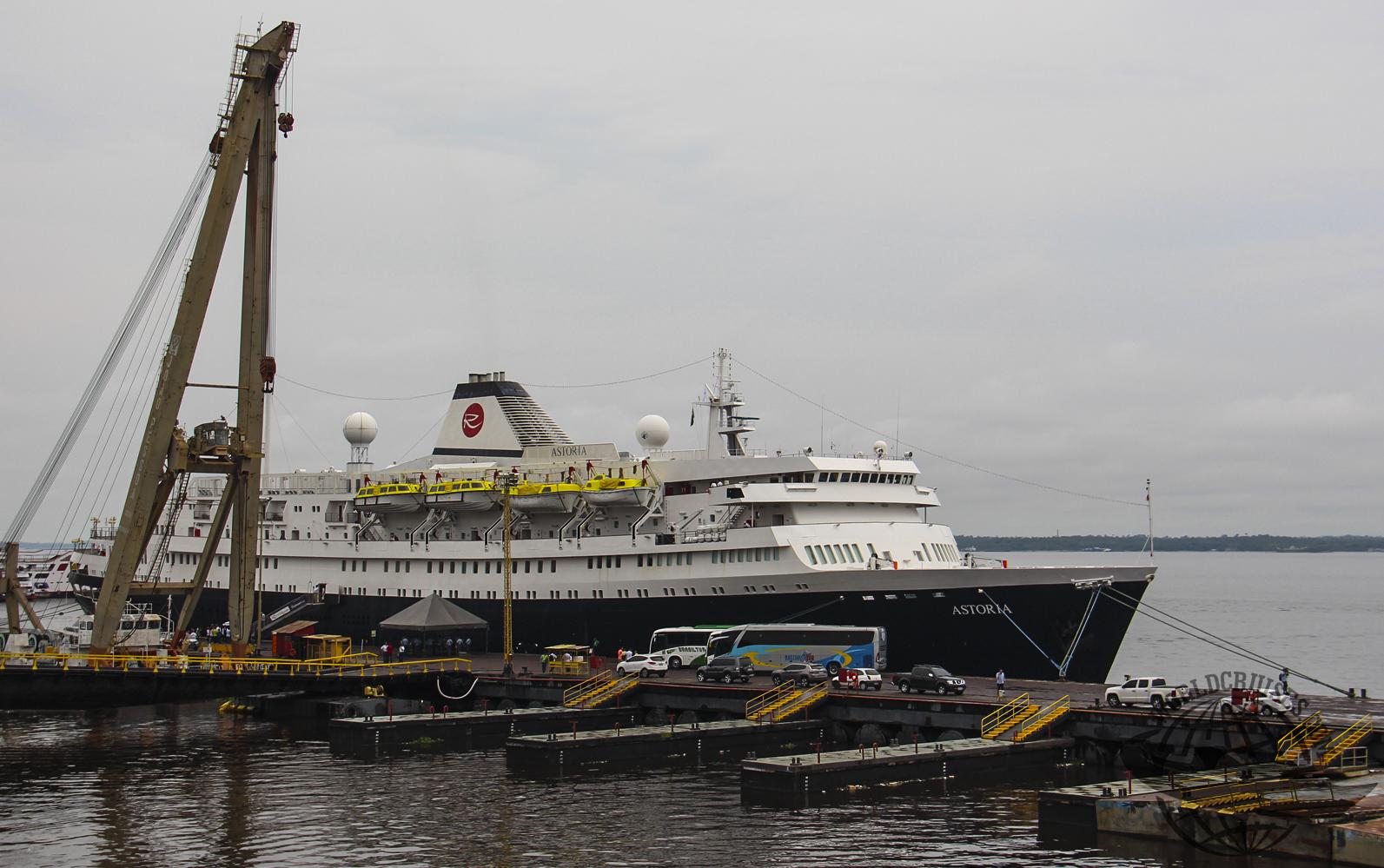 Temporada de cruzeiros de Manaus começa com escala do