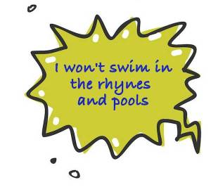 Dog Rangers won't swim in the rhynes and pools