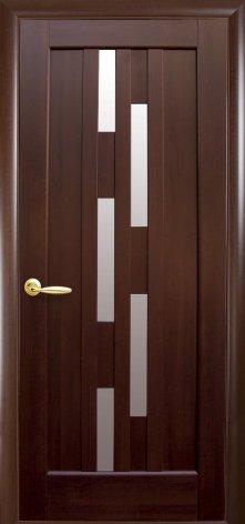 Двери Лаура каштан Новый Стиль