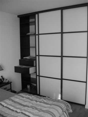 porte de placards japonaises par espace