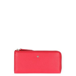 FMME Wallet Large Grain Red