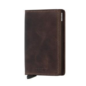 Secrid Slim Wallet Portemonnee Vintage Chocolate