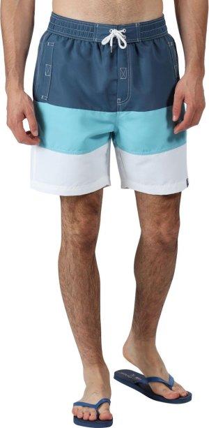 Regatta Zwembroek Bratchmar Vi Heren Polyester Blauw/wit Maat 3xl