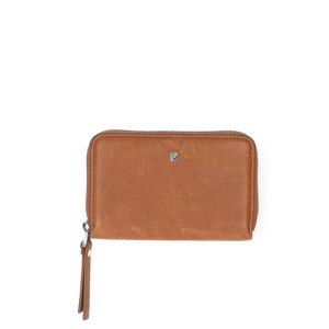 FMME Wallet Small Nature Cognac