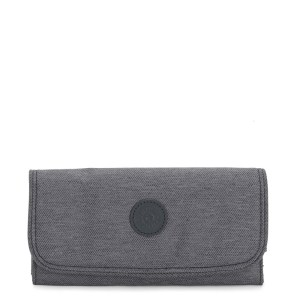 Kipling Money Land Portemonnee Charcoal