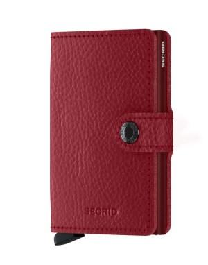 Secrid Mini Wallet Portemonnee Veg Rosso / Bordeaux