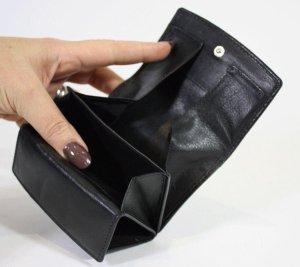 Emco Bak portemonnee Heren Billfold Zwart