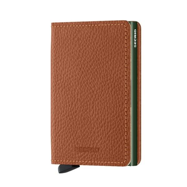 Secrid Slim Wallet Portemonnee Veg Caramello / Green