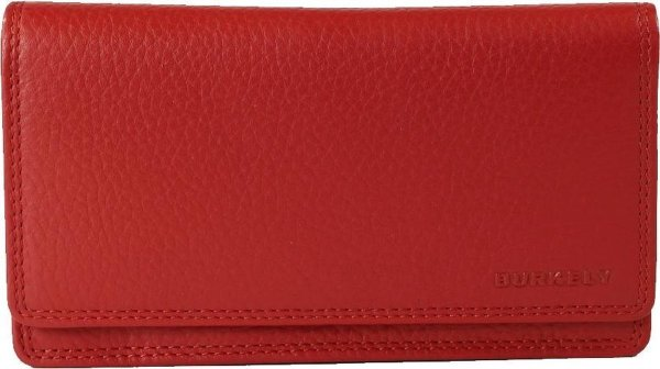 BURKELY Flap Red - Portemonnee - Rood