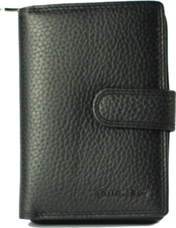 BURKELY Multipocket Black - Portemonnee - Zwart