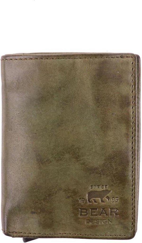 Bear Design - Figuretta RFID - Creditcardhouder - groen