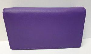 Dames Overslagportemonnee met dubbele drukker - Bright Purple