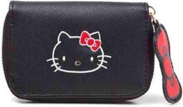 Hello Kitty Dames portemonnee Zwart