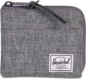 Herschel Supply Co. Johnny Portemonnee - RFID - Raven Crosshatch