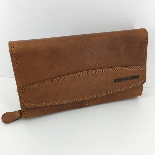 Hillburry - VL777032 - 5033 - bruin - portemonnee - leer