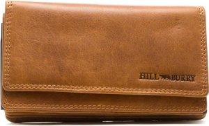 Hillburry - VL777036 - 4006 - portemonnee - bruin - leer