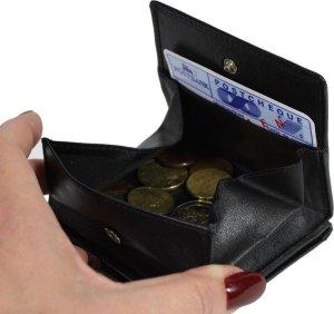 Kleingeld portemonnee leer functioneel