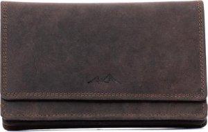 LeonDesign - 16-HI-HU556 - donker bruin - dames - portemonnee - leer