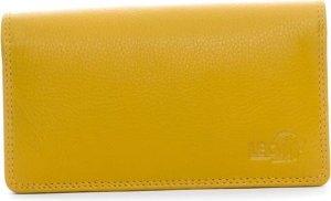 LeonDesign - 16-W784-02 - dames - portemonnee - mosterd Geel - leer