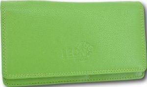 LeonDesign - 16-W784-18 - portemonnee - piquant Groen - leer