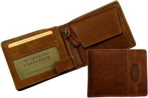 Luxe Leren Portemonnee - Hoge kwaliteit Met RFID-bescherming | Leer | rundleer | Creditcardhouder | Kaartenhouder