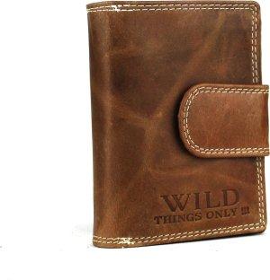 Massi Miliano Wild Dames Portemonnee - 9x12.5 cm - Cognac