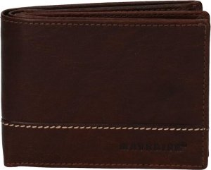 Maverick Montana billfold portemonne RFID - 5cc - Bruin