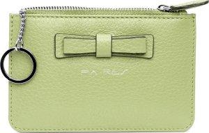 Pia Ries 601-15 Kleine portemonnee voor munten, kaarten en een sleutel - Pastel Groen