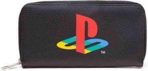 Playstation Dames portemonnee Logo Zwart