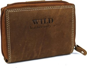 Portemonnee dames Wild Leather Only III (14598-14) - camel-