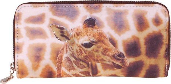 Portemonnee groot giraf-