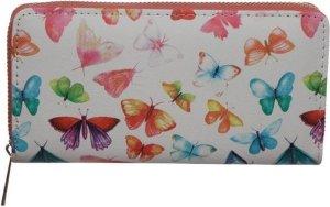 Portemonnee groot vlinders-
