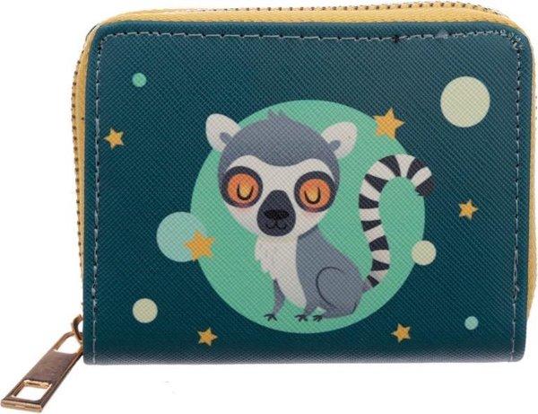 Portemonnee ringstaart Maki - Lemur-