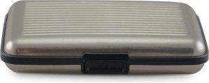 RFID Anti-Skim Aluminium Creditcardhouder - Kaarthouder - Card Protector - Pasjeshouder - Zilver