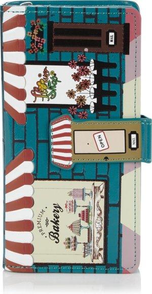 Shagwear Portemonnee - Trendy Ritsportemonnee - Dames - Kunstleer - Vintage Bakery (0548Z)