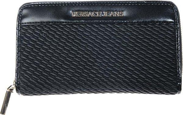Versace Jeans - Linea U Dis. 1 - large ZA - dames portemonnee - zwart