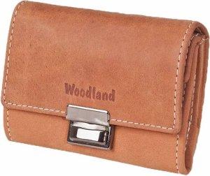 Woodland Leren Portemonnee 'Taxi' - Cognac