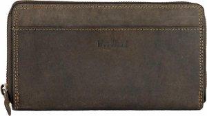 Woodland 'Luxury' Ritsportemonnee - Dames - Leer - Bruin