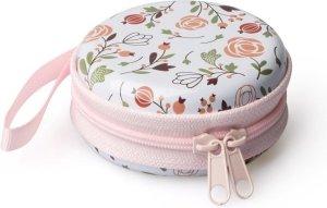 Balvi Portemonnee Bloom Dames 7 X 3 Cm Metaal Wit/roze
