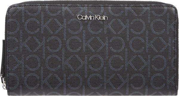 Calvin Klein - RFID Z/A xl monogram - portemonnee dames - monogram