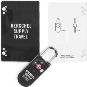 Herschel Supply Co. Pasjes portemonnees TSA Card Lock Zwart