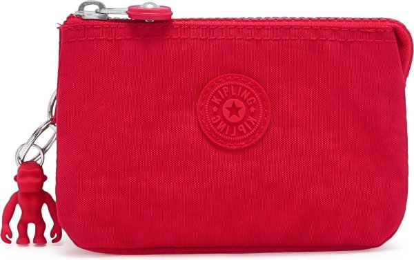 Kipling Creativity S Portemonnee - Red Rouge