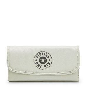 Kipling Money Land Portemonnee Dynamic Silver