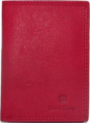 Kleine Dutch Design portemonnee (hoog model) rood 7 creditcardvakken