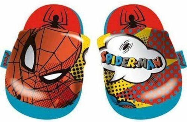 Marvel Badslippers Spider-man Jongens Rubber Rood Mt 32-33