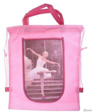 Roze Ballet Tasje - Rugzakje met Ballerina - Opvouwbare Portemonnee - Meisjes - Versie D