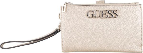 Guess Dames portemonnee Uptown Chic - goud